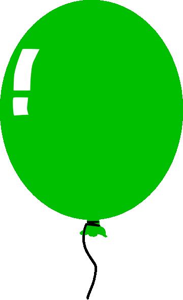 360x590 Green Balloon clip art Clipart Panda