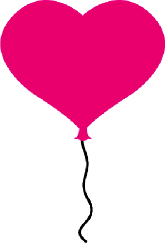 340x502 Heart Balloon Clip Art