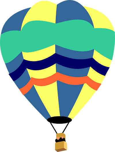 400x530 Hot Air Balloon Clip Art Outline Clipart Panda