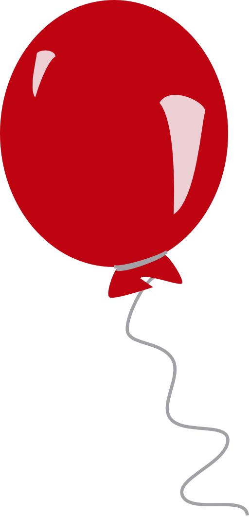 512x1063 Red balloon clipart free images 2
