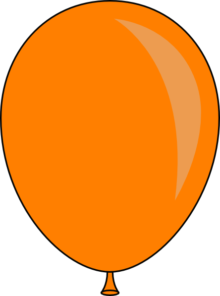 444x598 Balloon Clip Art