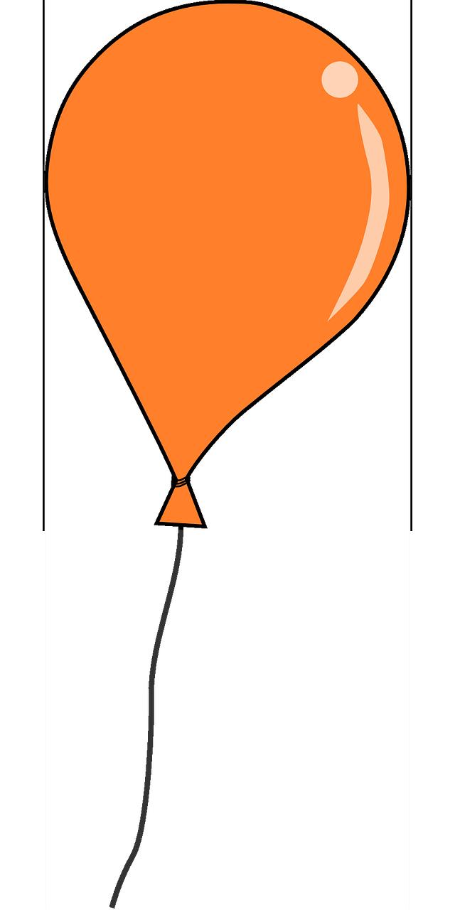 640x1280 Balloon Clipart