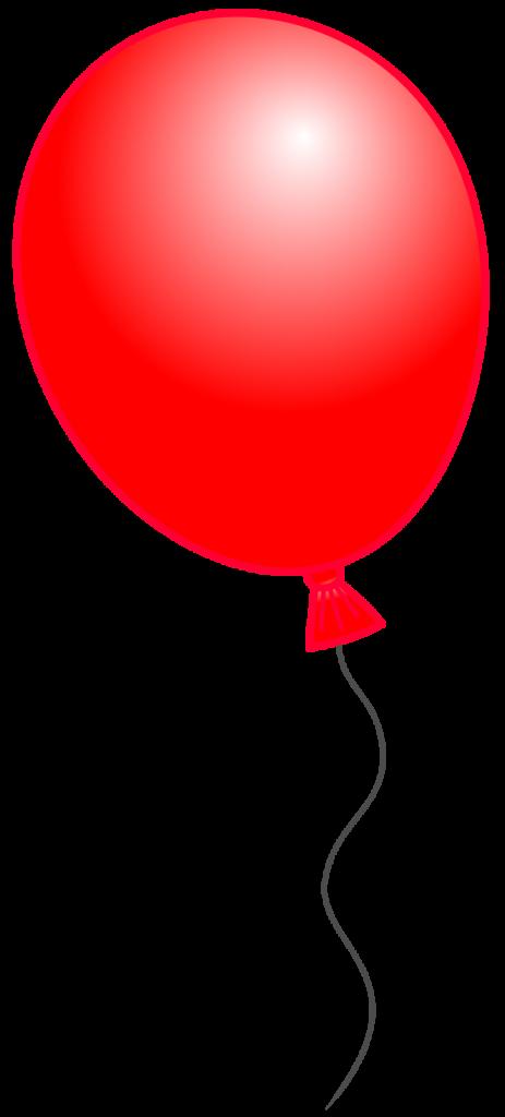 463x1024 Balloon clip art 4