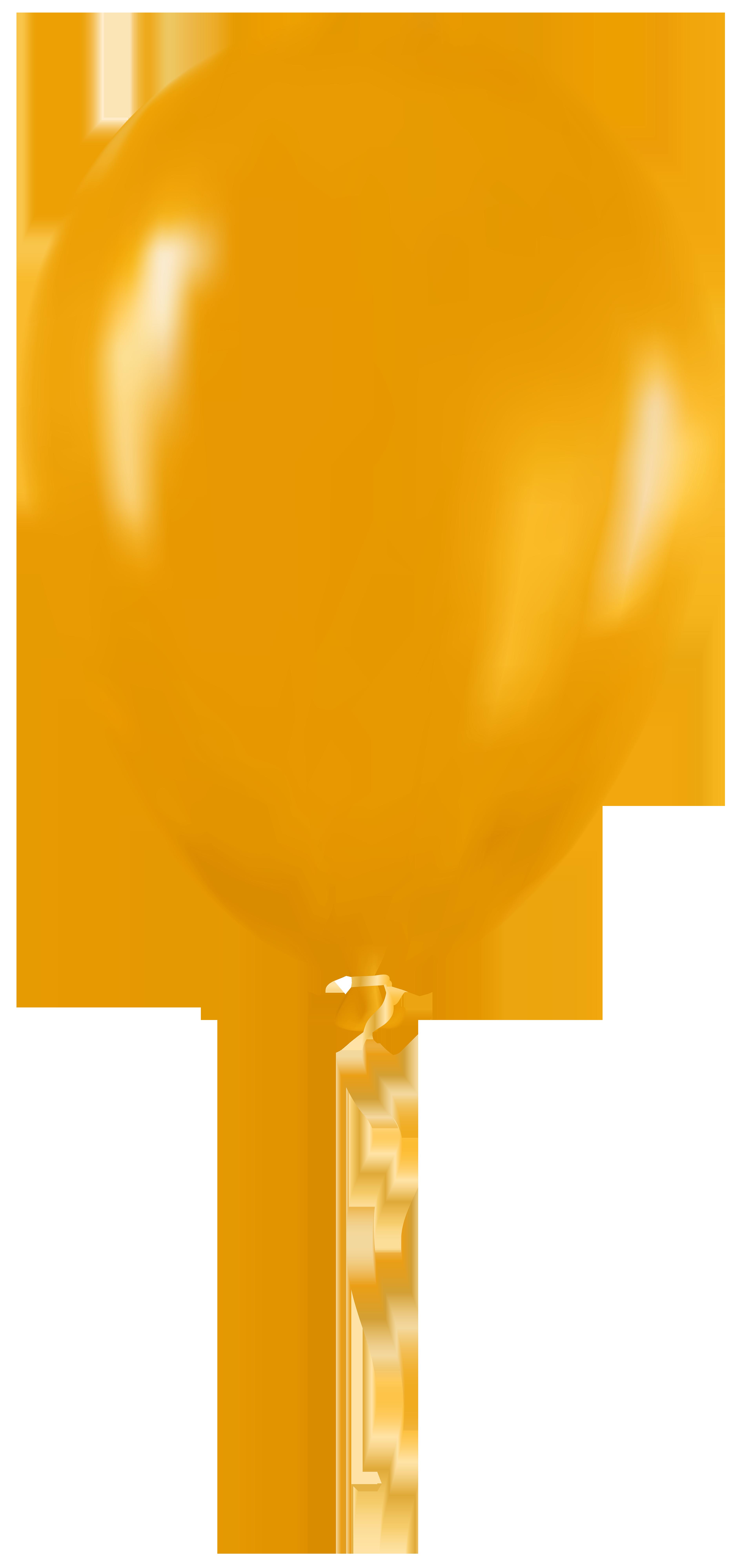 3788x8000 Yellow Balloon Png Clip Art