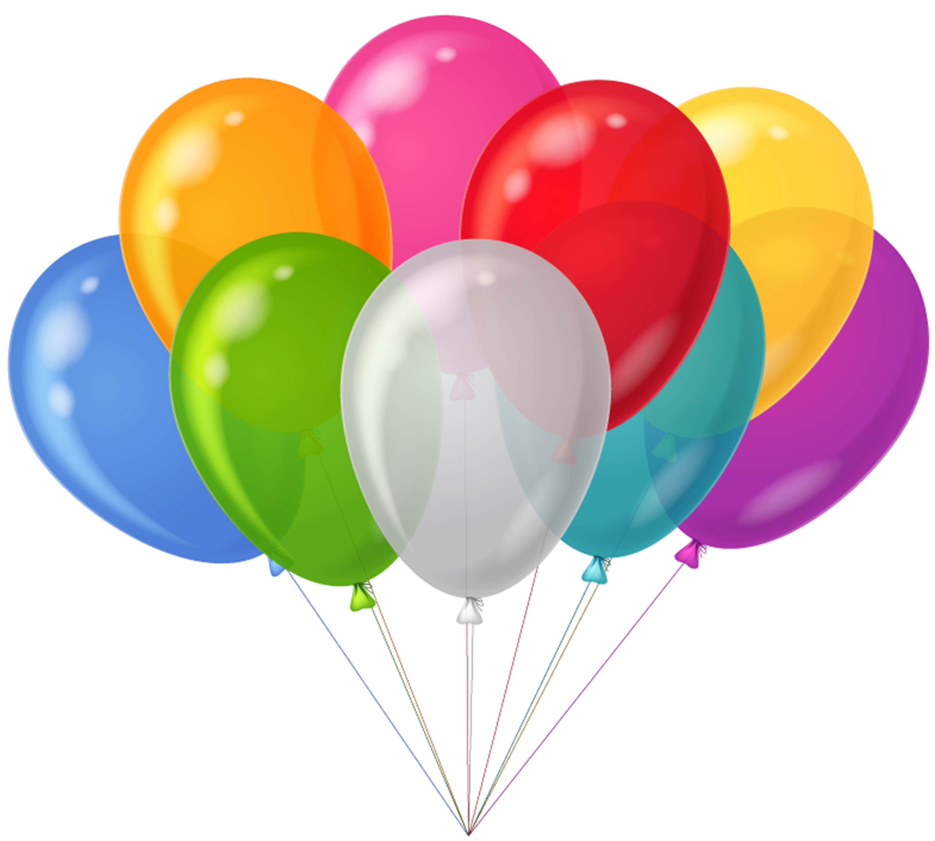 3250x2922 Birthday Ballons Clipart