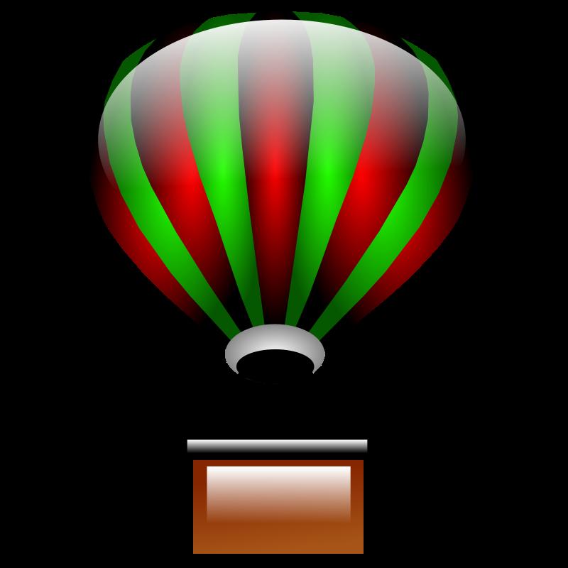 800x800 Parachute Clipart Weather Balloon
