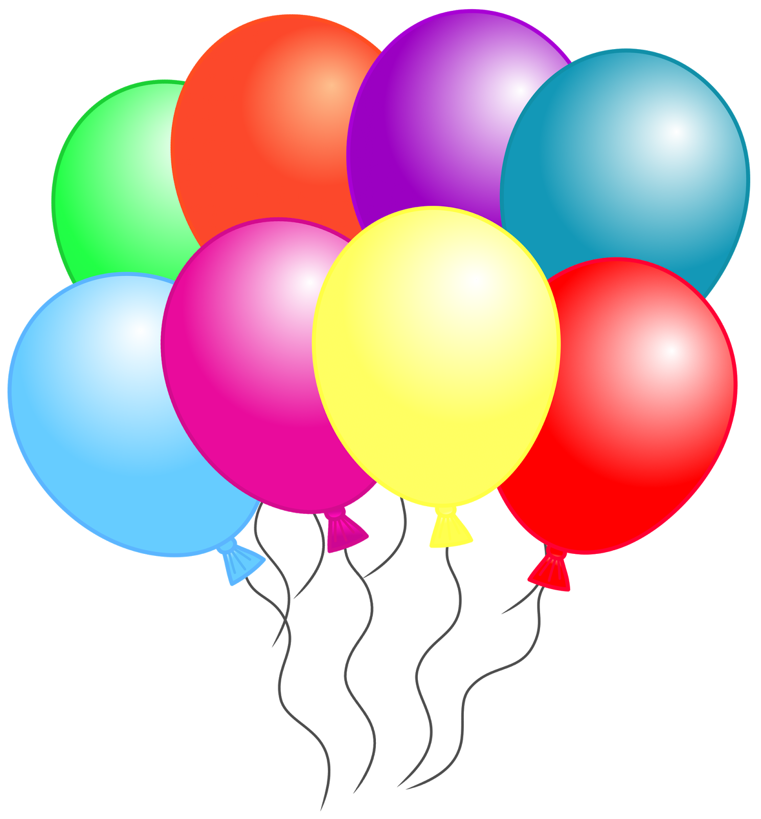 1488x1600 Balloon Clipart Six