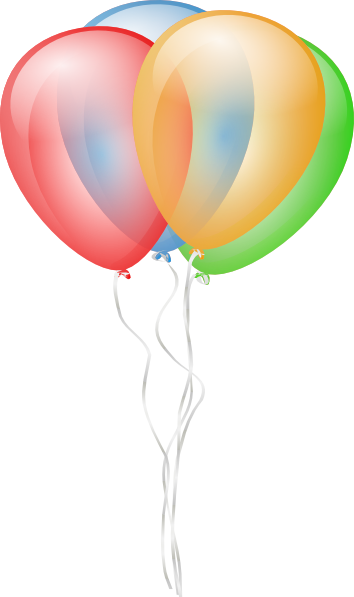 354x597 Balloons 2 Clip Art