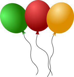 288x299 Balloons Clip Art