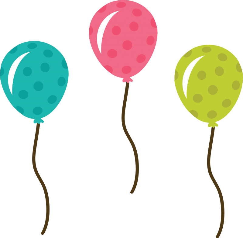 800x783 Balloons clip art transparent background free