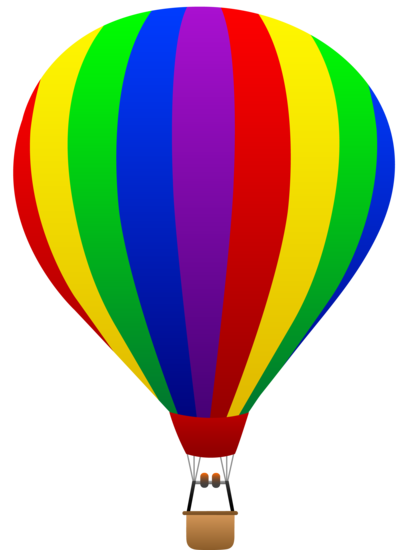 407x550 Best Hot Air Balloon Clip Art