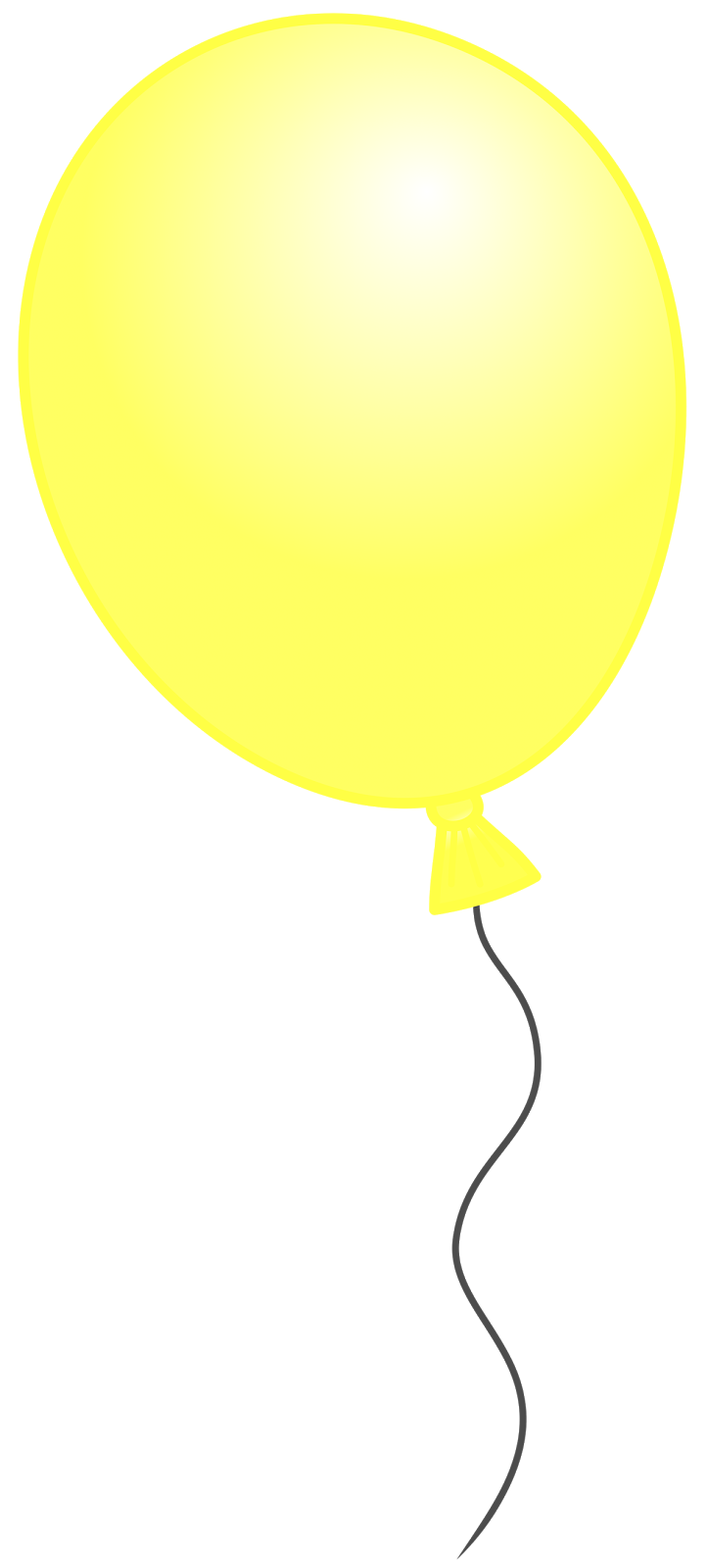 723x1600 Yellow balloon clipart, explore pictures