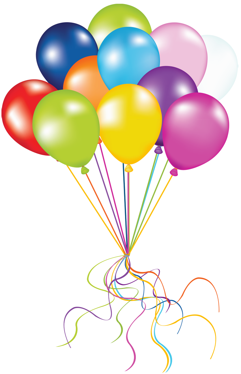 835x1296 Balloon Clipart Transparent Background