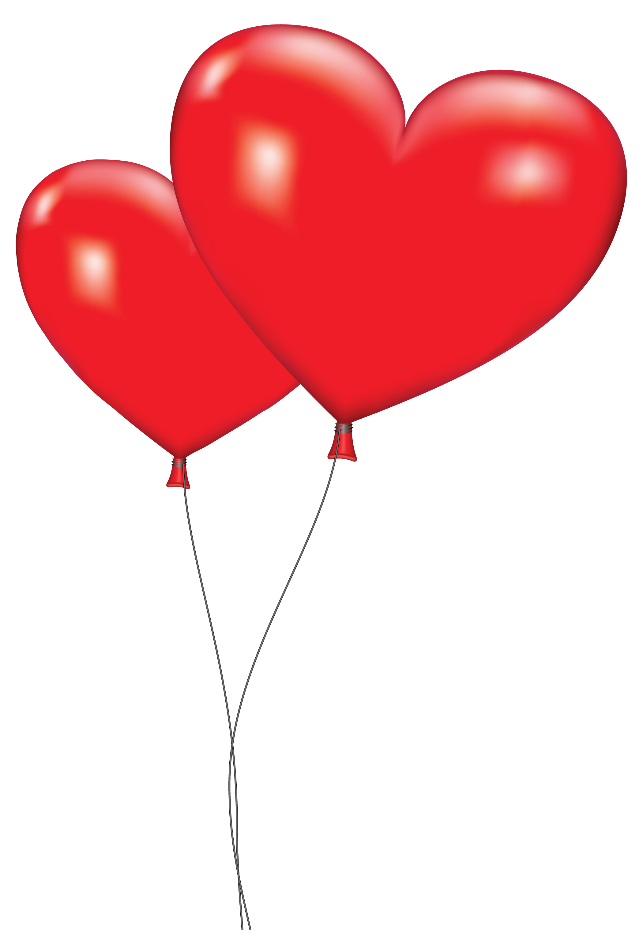 2100x3091 Balloon clipart love heart