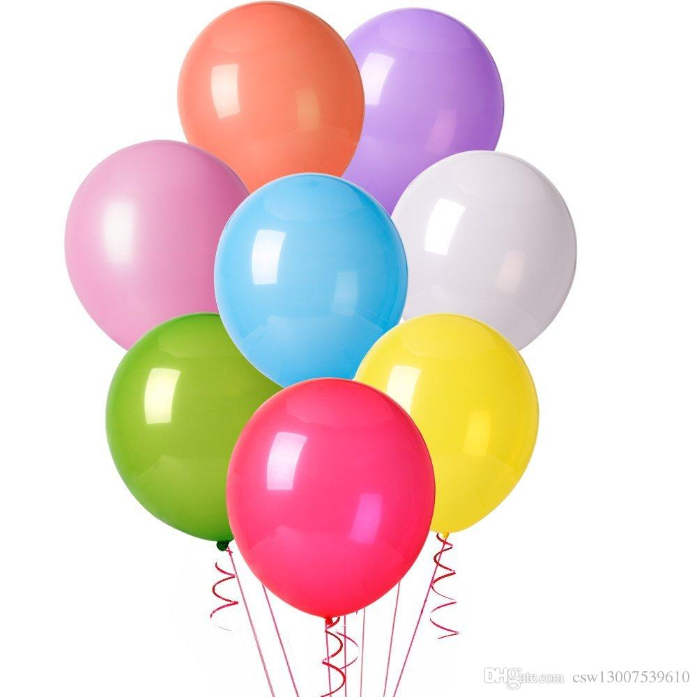 1000x1000 12 Inches Assorted Color Party Balloons Apply Colours To A Drawing