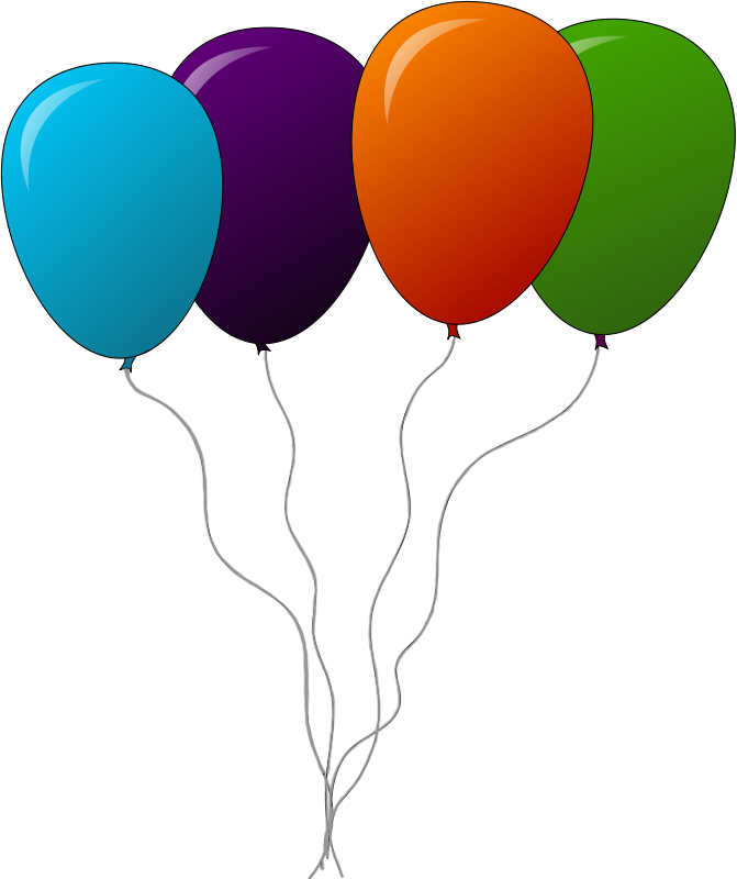 671x800 Balloon free to use clip art –