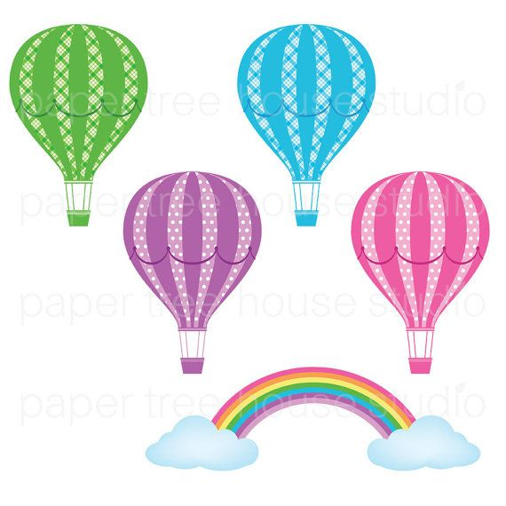 570x570 Hot Air Balloon clipart purple