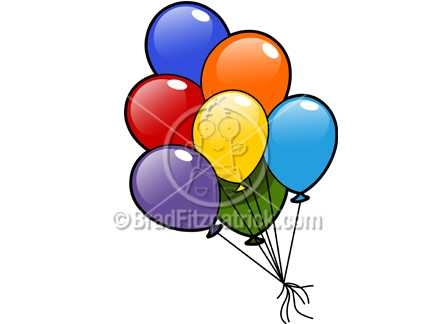 432x324 cartoon balloons clipart picture royalty free balloon clip art