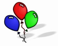 187x150 Free Balloons Clipart