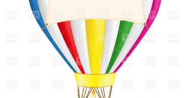 367x195 Hot Air Balloon Basket Outline Vector Archives
