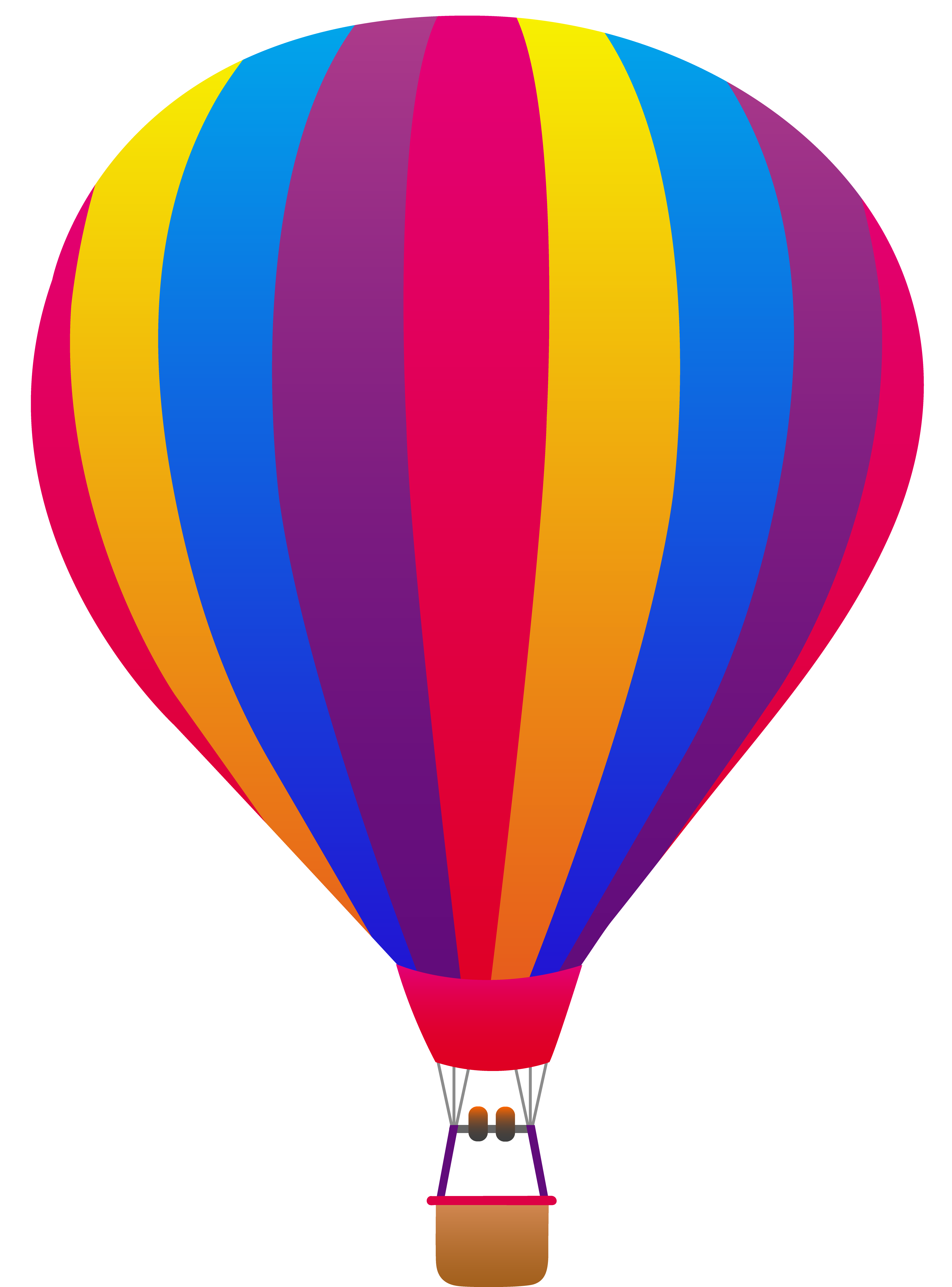 4114x5559 Top 80 Hot Air Balloon Clip Art