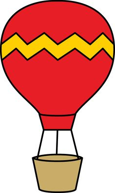 236x395 Cute Hot Air Balloon Clip Art Free Bulletin Boards Doors School