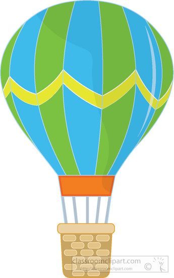 345x550 Free Hot Air Balloon Clipart