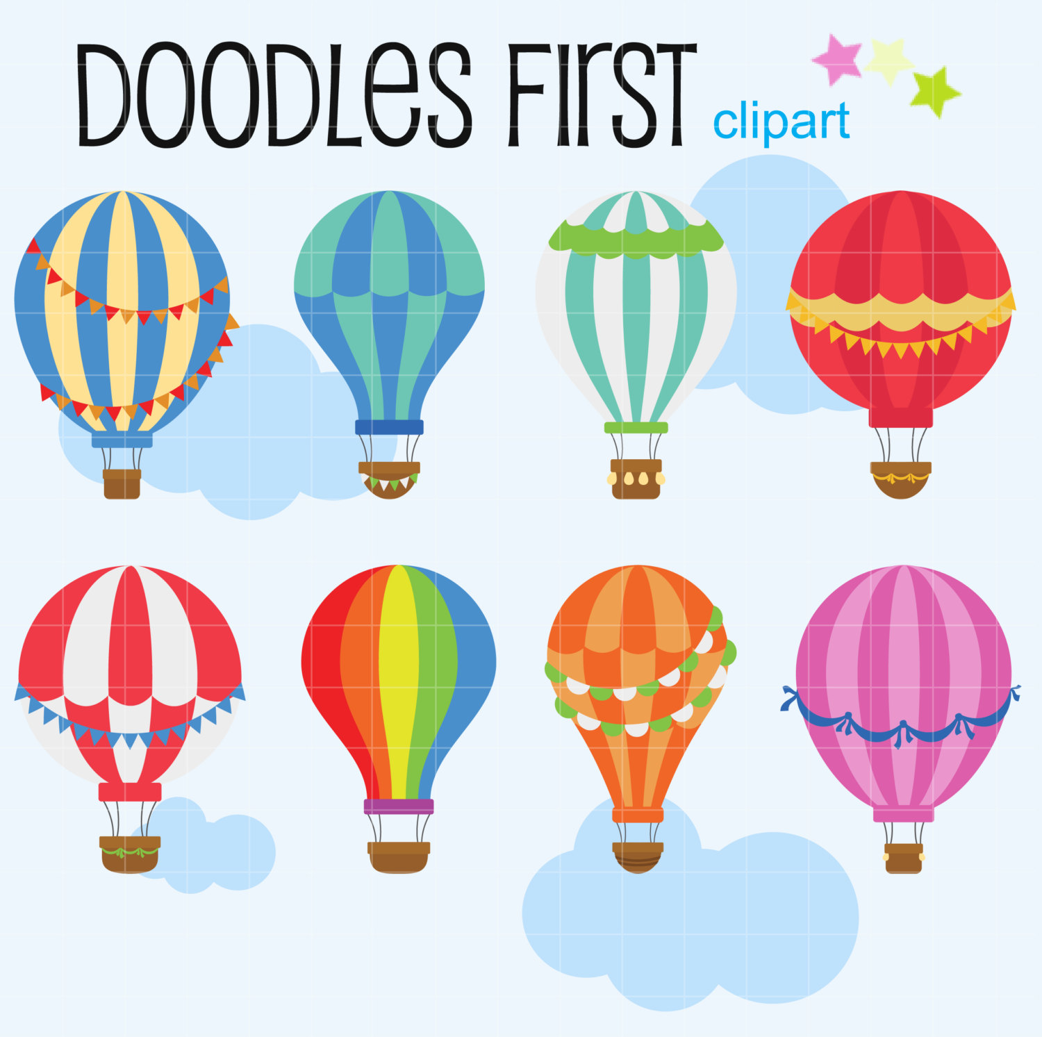 1500x1493 Hot Air Balloon Clipart Vintage