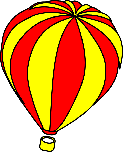 486x599 Top 80 Hot Air Balloon Clip Art