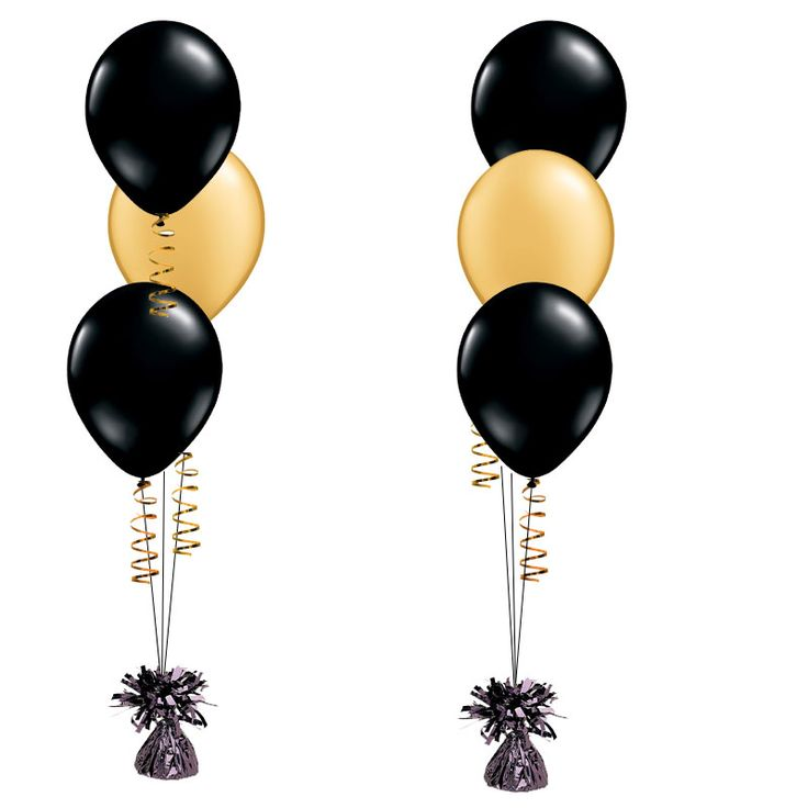 736x736 Gold Clipart Black Balloon