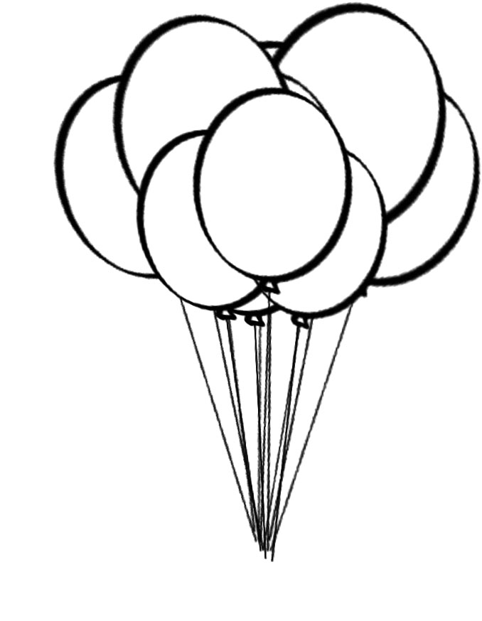 678x874 Interesting Balloon Coloring Page 50 For Coloring Pages For Kids