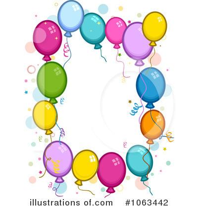 400x420 Birthday Balloon Border Clipart Cliparthut