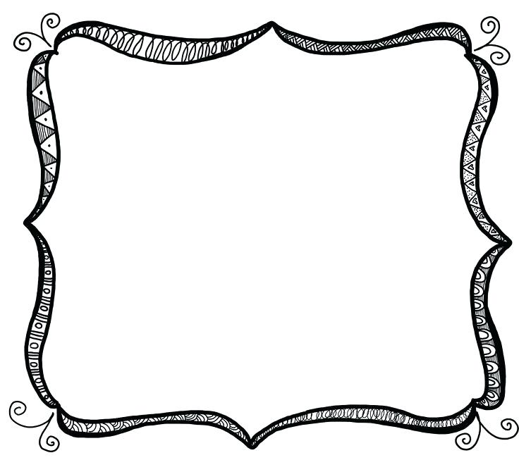 736x653 Free Clipart Borders Free Printable Clip Art Borders For Teachers