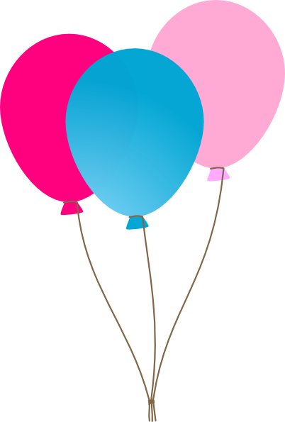 402x595 Graphics For Pink Balloon Graphics