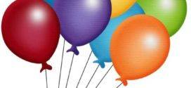 272x125 Cartoon Balloons Clipart Picture Royalty Free Balloon Clip Art