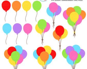 340x270 Balloon Clipart Etsy