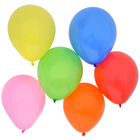 480x480 Colorful Helium Balloons