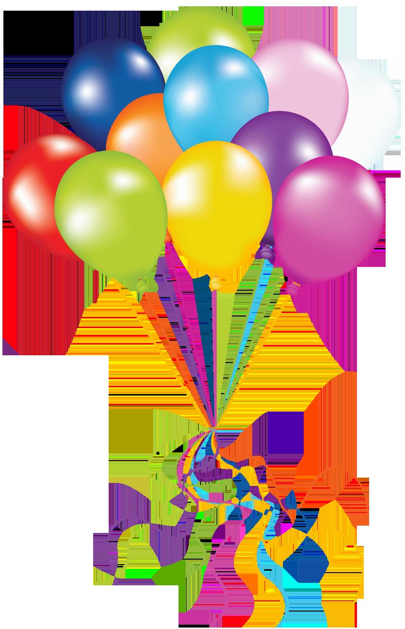 835x1296 Transparent Balloons Png Picture Art Studio Clip