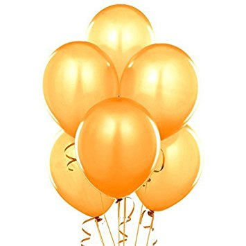 355x355 Fun Express 11 Gold Metallic Balloons (2 Dozen) Toys