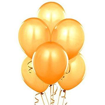 355x355 Fun Express 11 Gold Metallic Balloons (2 Dozen) Toys