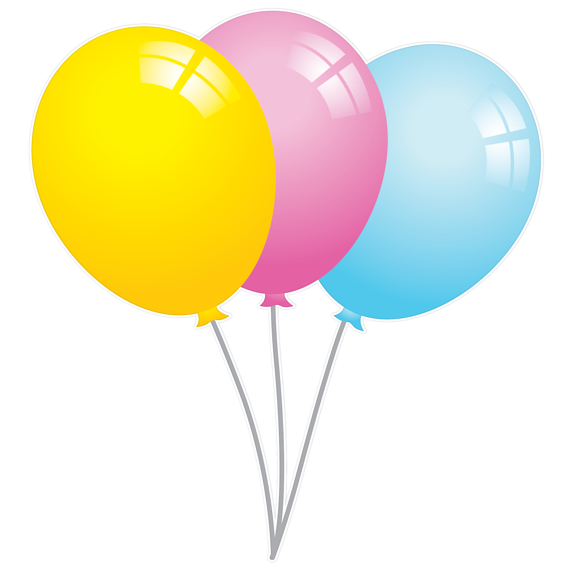 Balloons Clipart No Background All About Clipart