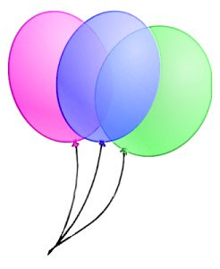 246x300 Free 3 Balloons On Strings Clipart