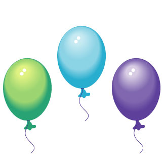 324x324 Party Balloons Clipart Clipart Panda