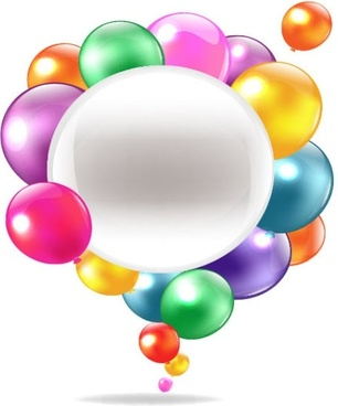 306x368 Vector Realistic Colorful Balloons Free Vector Download (22,815
