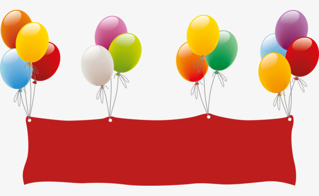650x400 Colored Balloons, Red Cloth, Color, Balloon Png Image For Free