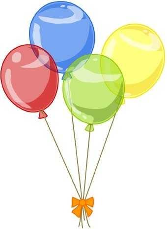 340x464 Free Birthday Balloon Clip Art Clipart Panda