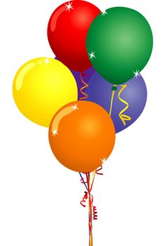 236x352 Free Clipart Images Birthday Balloons
