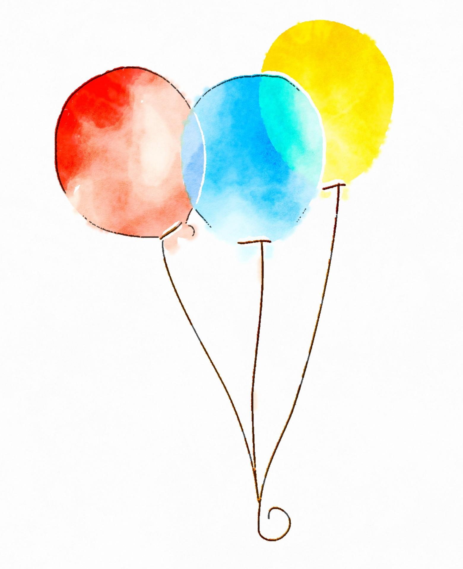 1560x1920 Balloons Free Stock Photo