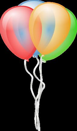 256x432 Balloons Clipart I2clipart