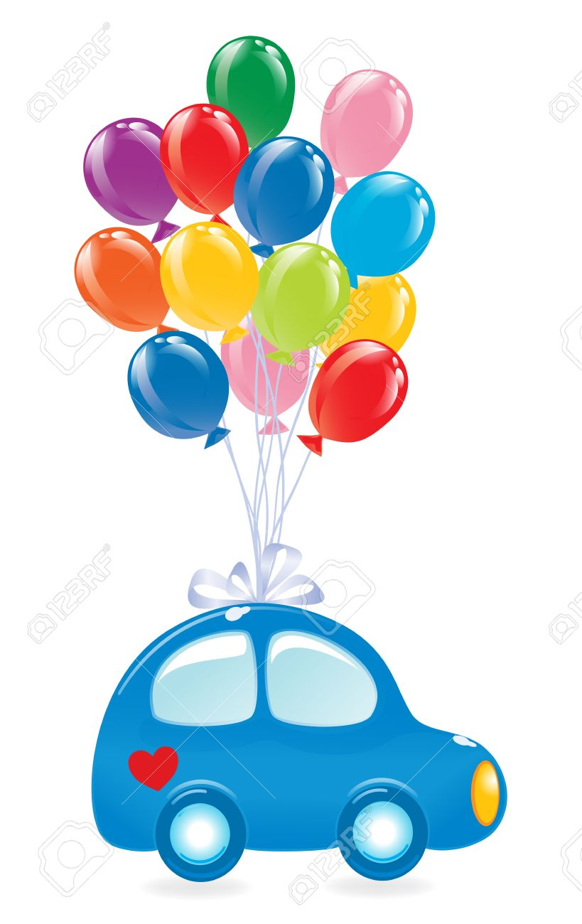 819x1300 Cars Balloons Clipart, Explore Pictures